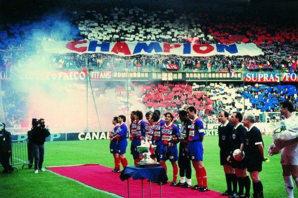 PSG campione di Francia 1994