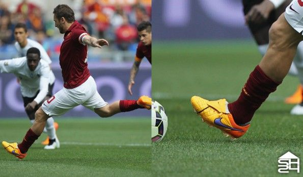 Francesco Totti (Roma) - Nike Tiempo Legend V #intenseheat Custom