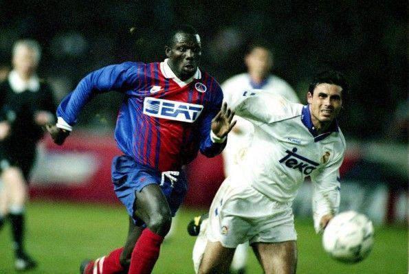Weah in PSG- Real Madrid 1993-94