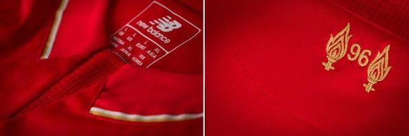 Colletto maglia Liverpool New Balance