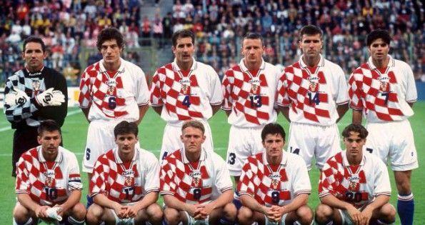 La formazione della Croazia a Francia 1998