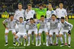 Dinamo Kiev divisa 2014-2015 home