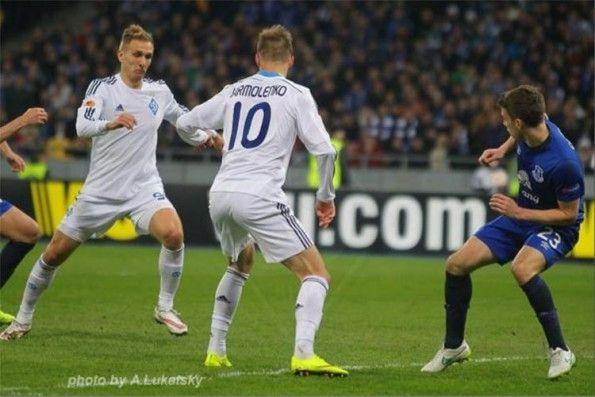 Font Dinamo Kiev home 2014-15