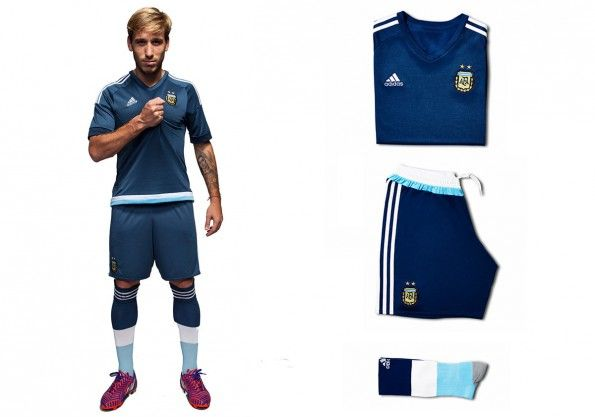 Kit away Argentina Coppa America 2015