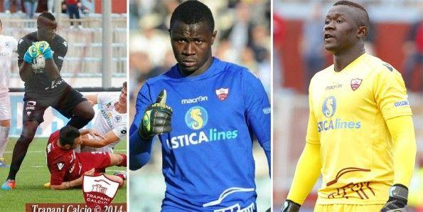 Kit portiere Trapani Calcio 2014-15