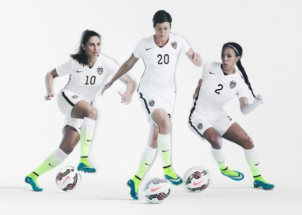 Kit nazionale femminile Stati Uniti 2015 Nike