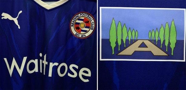 Dettagli maglia Reading logo The Avenue School