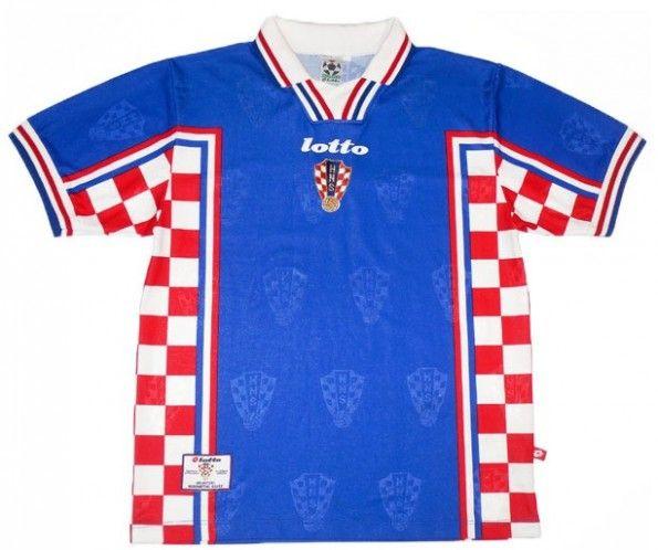 Maglia away Croazia Lotto 1998