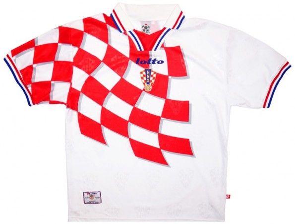 Maglia Croazia 1998 mondiali Lotto