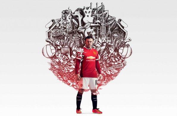 Wayne Rooney campagna Nike Manchester United