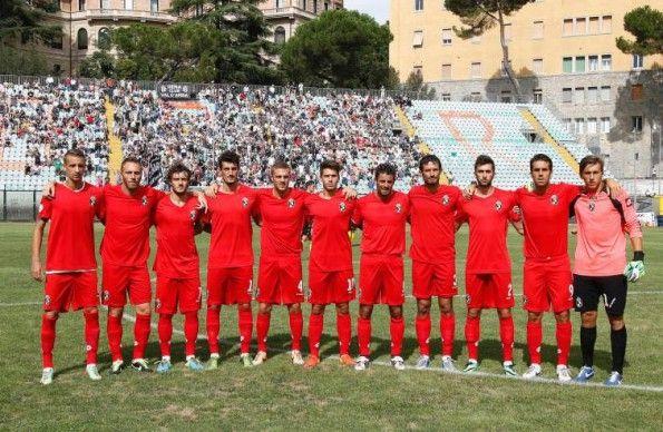 Robur Siena divisa away 2014-2015 rossa