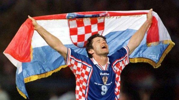Suker esulta per la sua Croazia