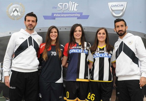Maglia Udinese speciale 2014-15, Dacia sponsor day