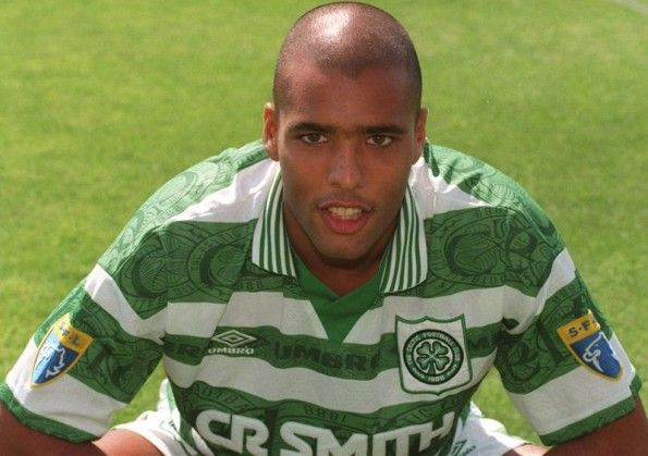 Van Hoijdonk in maglia Celtic