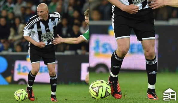 Zinedine Zidane (Match contre pauvreté) - adidas Predator Instinct