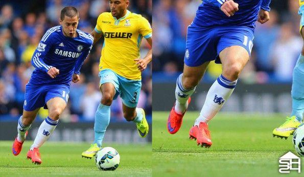 Eden Hazard (Chelsea) - Nike Mercurial Vapor X #intenseheat