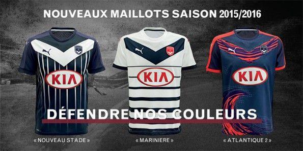 Maglie Bordeaux 2015-2106 Puma