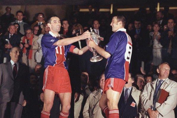 Vittoria Coppa di Francia 1992-93 del PSG