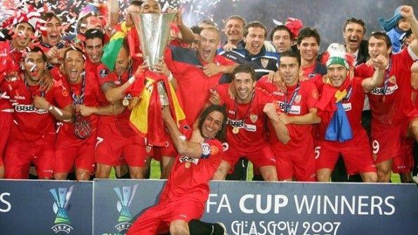 Siviglia vittoria Coppa Uefa 2006-2007