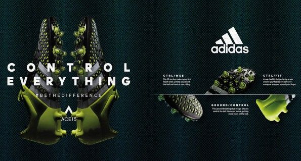 Infografica scarpini adidas ACE