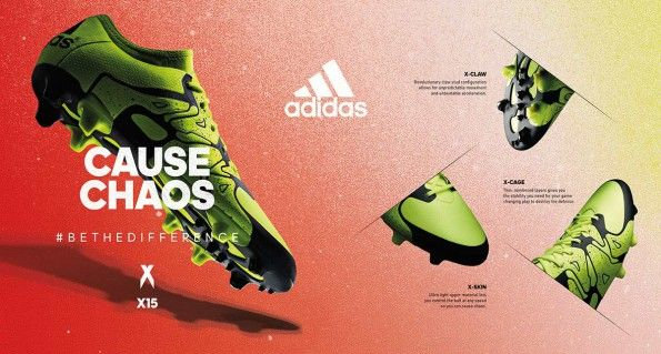 Scarpe X adidas infografica