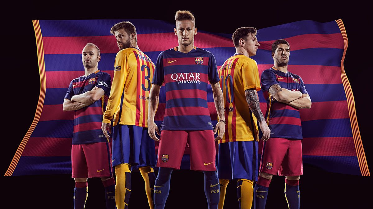 Maglie Barcellona 2015-2016 Nike