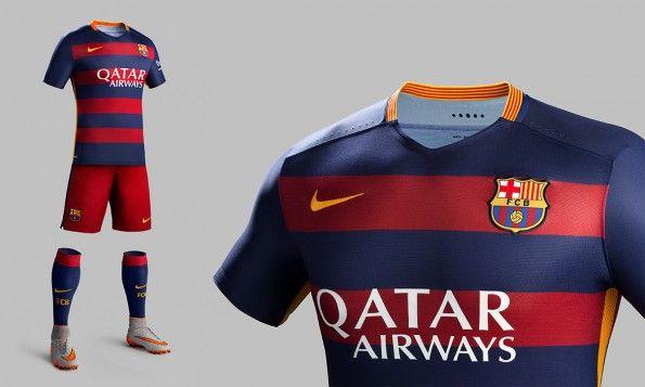 Divisa Barcellona home 2015-16 blaugrana