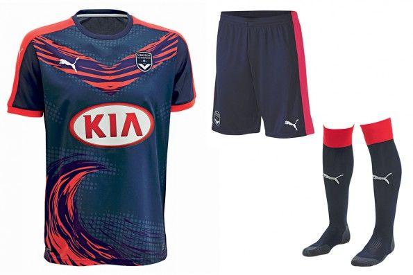Bordeaux terza maglia 2015-2016
