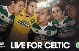 Presentazione kit Celtic 2015-2016