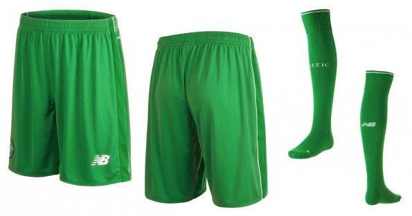 Pantaloncini calze Celtic away 2015-2016 verdi