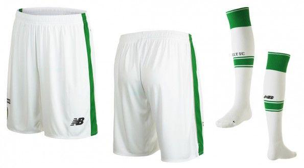 Celtic pantaloncini calzettoni home 2015-16