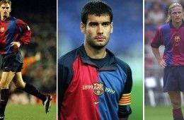 Prime maglie Barcellona firmate Nike
