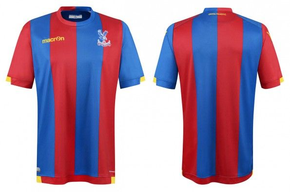 Maglia Crystal Palace 2015-2016 home