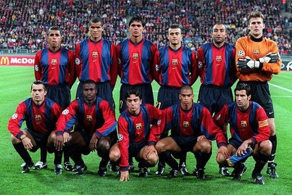 Divisa Barcellona 1998 Nike