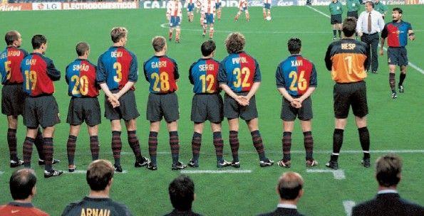 Retro maglia centenario Barcellona