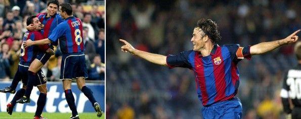 Divise Barcellona 2002 e 2004