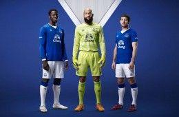 Presentazione kit Everton 2015-2016 Umbro
