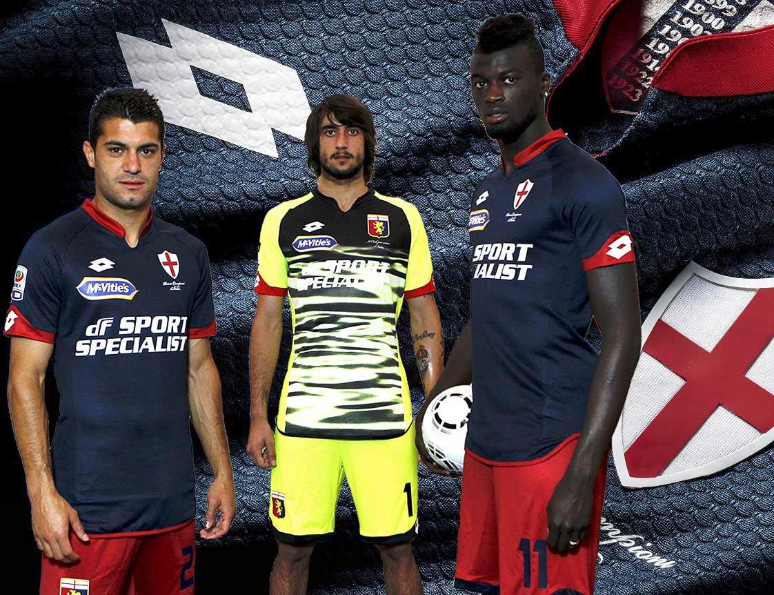 Presentazione maglia Genoa celebrativa primo scudetto