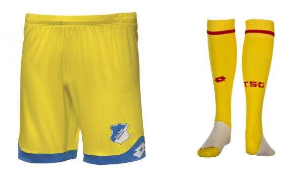 Pantaloncini calze gialle Hoffenheim 2015-16