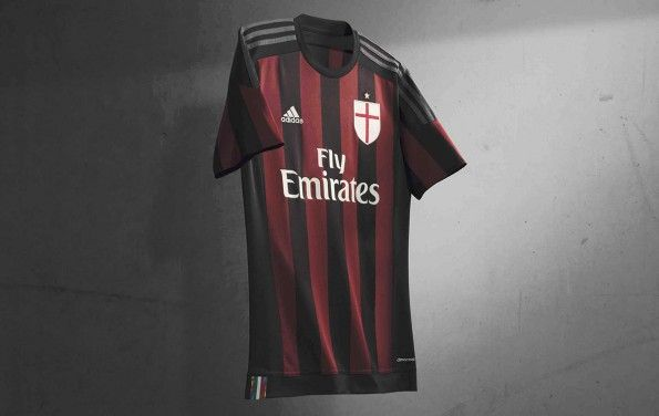 Kit AC Milan home 2015-16