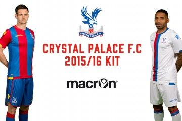 Kit Crystal Palace 2015-2016 Macron