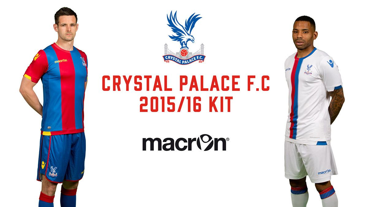 Kit Crystal Palace 2015-2016 Macron