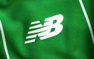 Logo New Balance maglia trasferta Celtic 2015-16