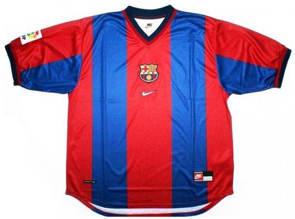 Maglia Barcellona 1998 blaugrana Nike