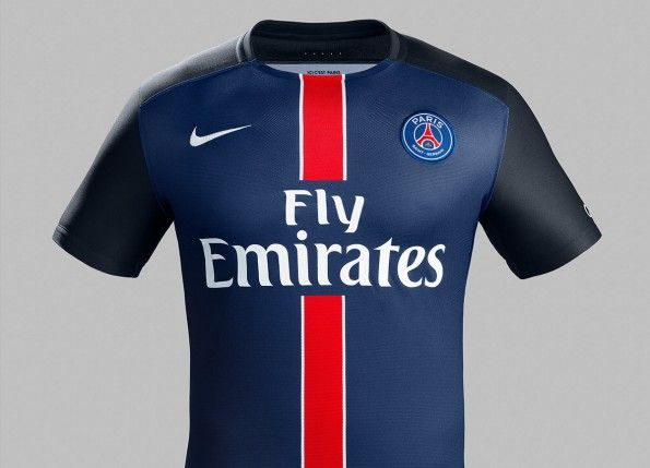 Maglia Paris Saint-Germain home 2015-16