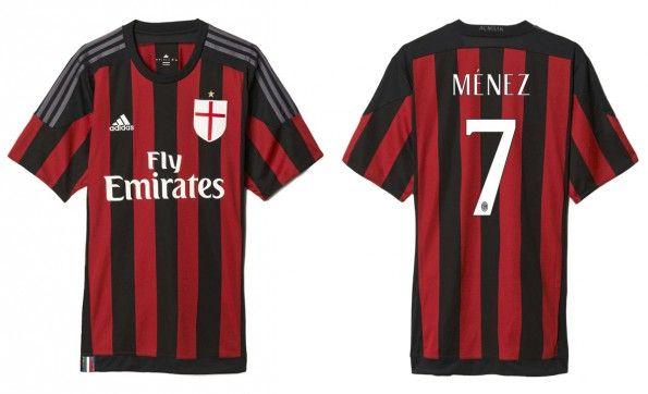 Maglia Milan 2015-2016 home adidas