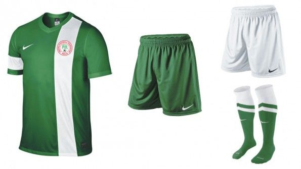 Kit Nigeria home 2015 Nike