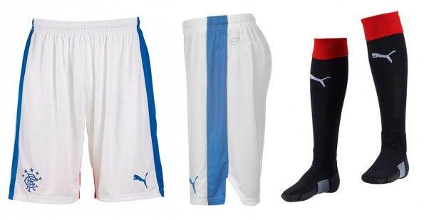 Rangers pantaloncini calzettoni home 2015-16