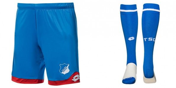 Pantaloncini calzettoni Hoffenheim 2015-16