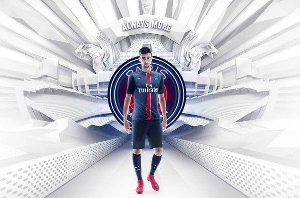 Pastore indossa la nuova maglia del PSG 2015-2016